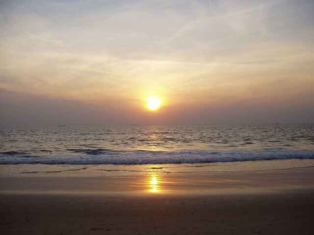 Goa Calangute Beach - Best Places to Visit in India