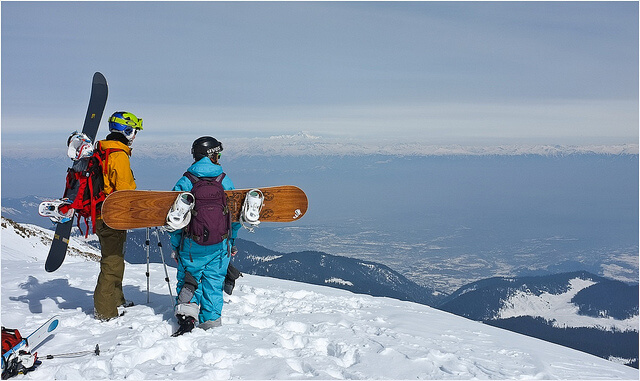 Skiing at Gulmarg in Kashmir | Best Places to Visit in India in February